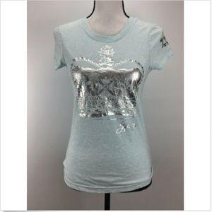 Juicy Couture Women's Blue Sleepwear T-Shirt